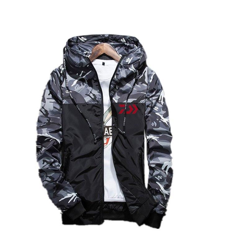 New 2019 Autumn Daiwa Fishing Jacket Sunscreen Coat Thin Models Outdoor Climbing Anti-UV Breathable Clothes