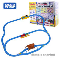 Takara Tomy tomica Plarail Basic Starter Railroad Set model kit diecast educational toys magic miniature baby dolls