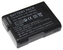 2pcs EN-EL14 EN-EL14A 1500mAh 7.4V Digital Rechargeable Camera Battery for Nikon D5300 D5200 D5100 D3200 D3100 D3300 P7000 cncool en el14 en el14a 1500mah 7 4v digital rechargeable camera battery for nikon d5300 d5200 d5100 d3200 d3100 d3300 p7000