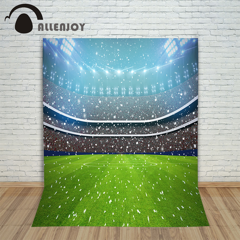 Allenjoy Photo Background photography backdrop Football stadium lights fireworks newborn photographic picture for studio 150cm image kiosk 2d qr 1d koisk embedded scanner module ep2000 free shipping usb2 0 rs232 interface usb