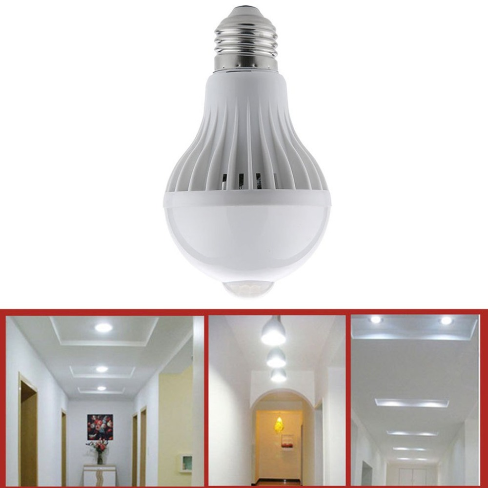 LED Infrared Sensor Light Indoor Outdoor Human Induction Lamp LED Light Bulb 360 Degree Wall Cabinet Lamp Energy Saving extension anderson 86 type high power human body induction switch corridor led energy saving lamp induction high power relay