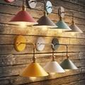 Скандинавский постмодерн Лофт ретро промышленная ветровая Светодиодная лампа в форме зонта светодиодная прикроватная лампа для учебы оте...