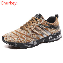 Men Sports Shoes Casual Outdoor Mesh Breathable Comfortable Lightweight Running