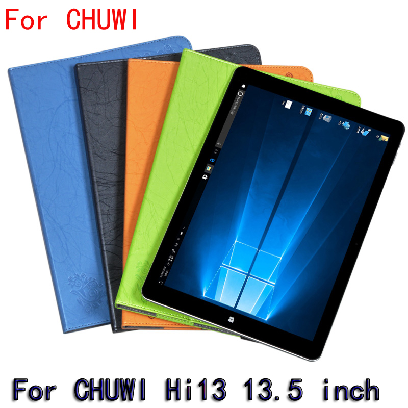 Magnet Leather Case Stand For CHUWI Hi13 13.5 inch clamshell Case for tablet PU For CHUWI Hi13 Protective Shell Case Stand +gift dolmobile luxury print flower pu leather case cover for chuwi hi13 13 5 inch tablet with hand holder stylus pen