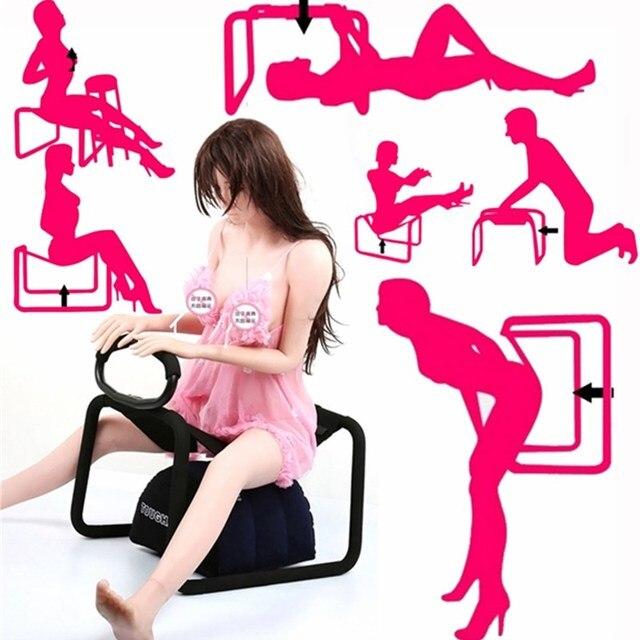 Mobiliário de casa Cadeira Do Amor Erótico Muitos Pose Amor Atrevido Cadeiras Poltrona Chaise Multifuncional Paixão Grande Urso Macio Spong de Alta- Q