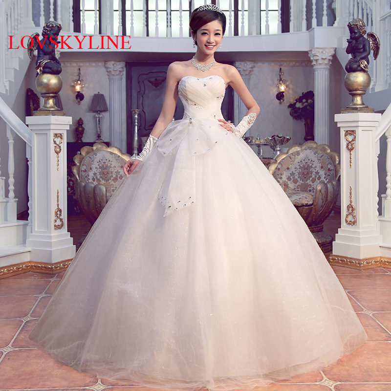 The bride wedding dress formal dress 2017 spring and ...