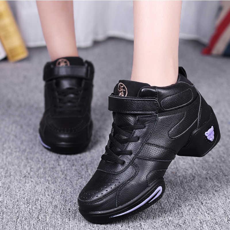 ¡OFERTA DE 2018! ¡novedad! Zapatos de baile de suela suave para mujer, zapatillas deportivas, zapatillas de Jazz Hip Hop, Zapatos de baile para mujer movefun