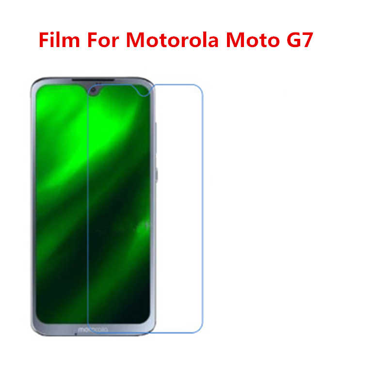 1/2/5/10 Pcs Ultra Thin Clear HD LCD Screen Guard Protector Film With Cleaning Cloth Film For Motorola Moto G7.