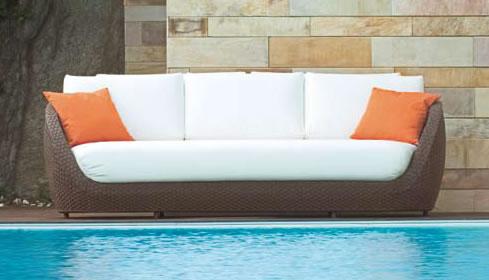 2017 SGS Wholesale Leisure Ways Outdoor Rattan Furniture Bench Garden Patio  Furniture