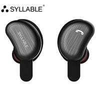 SYLLABLE D9 TWS Bluetooth Earphone True Wireless Stereo In Ear Earbud Waterproof Headset For Phone HD