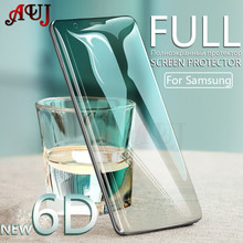 6D Curved Tempered Glass For Samsung Galaxy S8 S9 Plus Screen Protector for Samsung Note 8 S6 S7 edge Full Protective Glass Film
