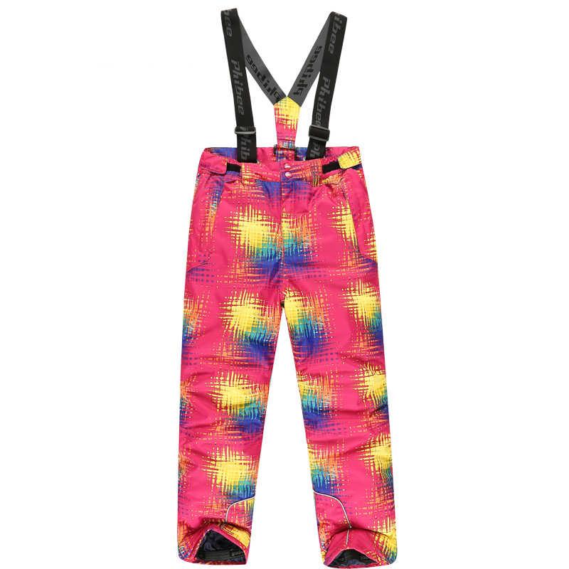 Dedektörü-35 derece kar pantolon artı boyutu elastik bel bayan pantolon kış paten pantolon kayak açık kayak pantolonu kadınlar için