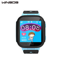 Cute Sport Q528 Children GPS Tracker Watch Children Good Watch with Flash Gentle Contact Display SOS Name Location Finder for Youngster