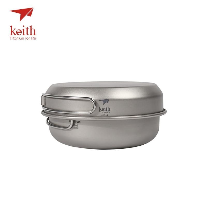 de titanio acampamento caminhadas piquenique utensilios cozinha ti6053 03
