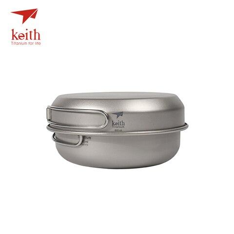 de titanio acampamento caminhadas piquenique utensilios cozinha ti6053