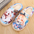 Anime Kantai Collection Warm Soft Shoes Plush Antiskid Home Indoor Slippers