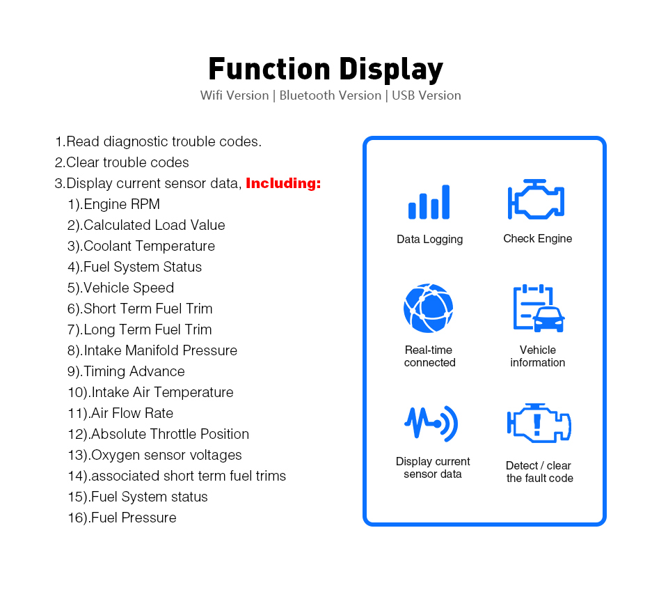 HTB1lrjeibGYBuNjy0Foq6AiBFXah Vgate iCar 2 ELM327 Wifi/Bluetooth OBD2 Diagnostic Tool for IOS iPhone/Android Icar2 Bluetooth wifi ELM 327 OBDII Code Reader