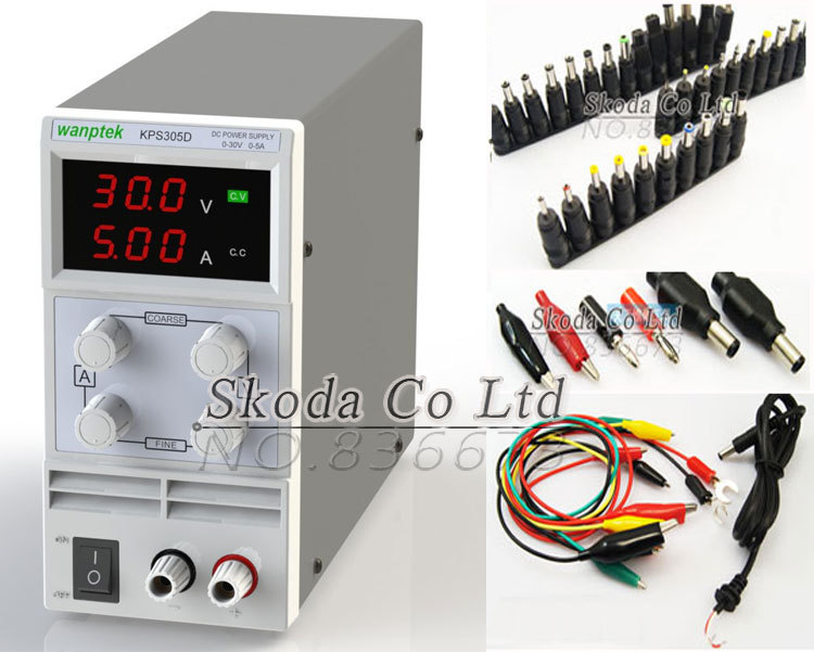 Фотография Wholesale precision adjustable DC power supply 15V 10A 110V/220V 0.1V 0.01A Switching Power supply+DC Jack Connector Plug