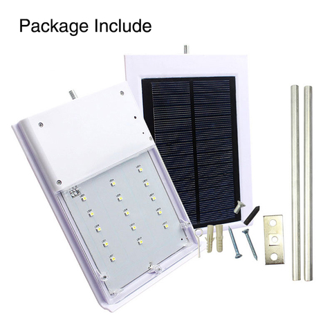15 led solar