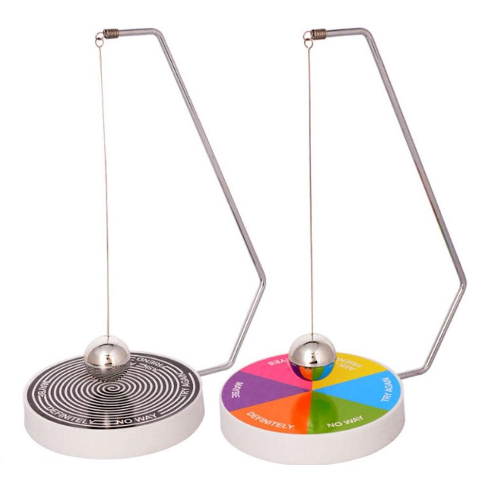 Pendulum Dynamic Desk Toy Novelty Decision Maker Gift Decoration Accessories Magnetic Swinging Game Fate Funny Desktop Brinquedo