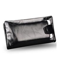 New soft Oil wax genuine leather men wallet long designer male clutch Luxury brand men wallets zipper coin purse phone Bags