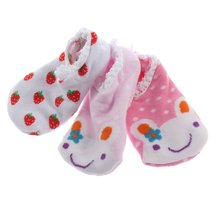 SCYL Cute random baby socks Cotton Blends Infant Toddler unisex Cartoon Pattern socking anti slip Ankle