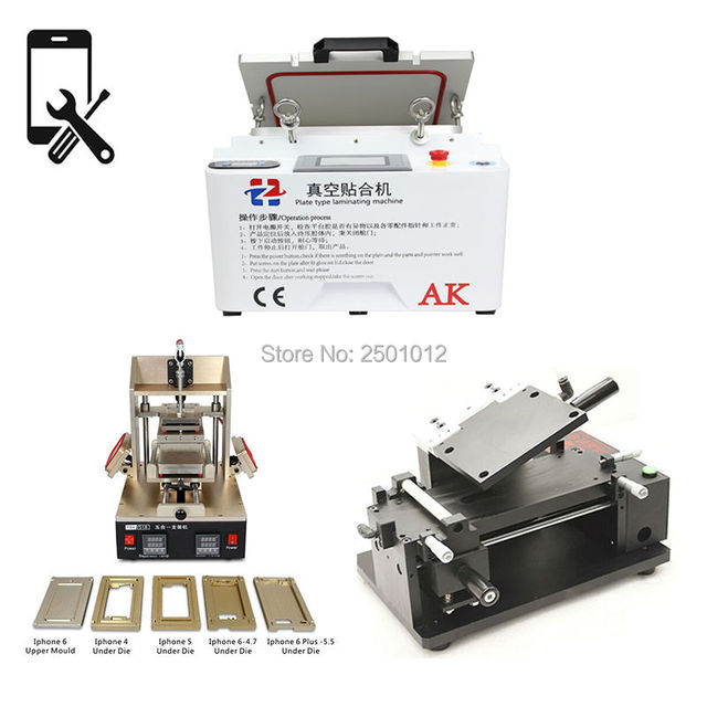 BIG SALE Full Set LCD Repair Equipment Vacuum Laminating Machine+5 ...
