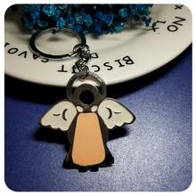 GRANDBLING Fantastic Souvenir Angel Key Chain Gift Ring Holder for Women Handbag Decoration
