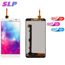 Skylarpu 5.5 inch white Complete LCD screen for Huawei Ascend Mate 2 MT2-L03 Cell Phone Full LCD display Touch screen(China)