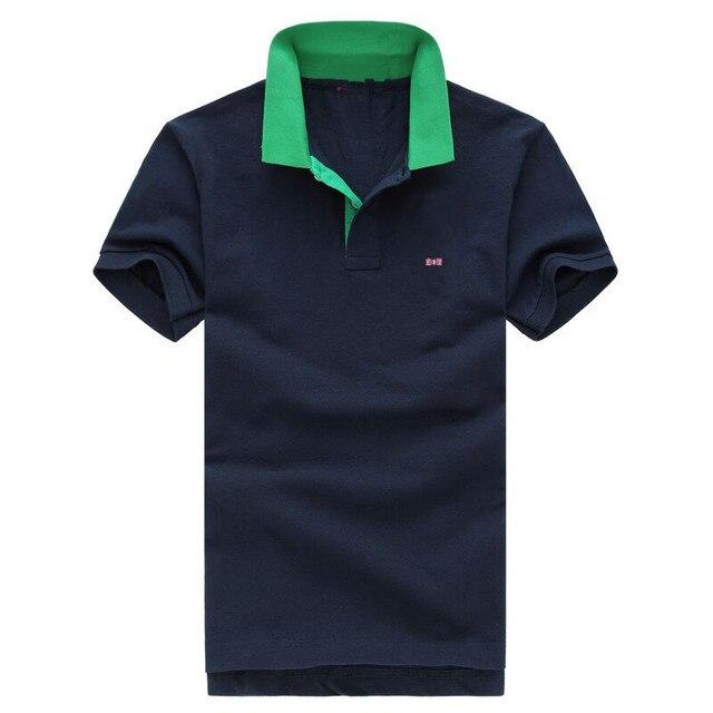 2016 бренд одежды Eden Park Поло не может позволить себе высокую качество мяч не морщин жемчуг хлопок мужчины Футболка Ml XL XXL