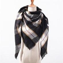 бандана  палантин платок на шею шарф зимний Дизайнерский бренд