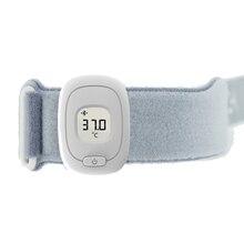 Bluetooth Smart детские браслеты младенческой Дети умный носимых электронный термометр сна Мониторы бытовой Температура