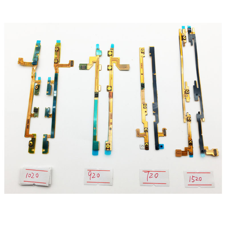 New Power Volume Button Switch Side Key Flex Ribbon Cable For Nokia Lumia 720 1020 920 1520 820 640XL 950 950XL image