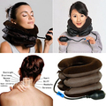 Cervical Neck Traction Device Headache Shoulder Pain Relax Brace Support Pillow 6YJO 7H5N