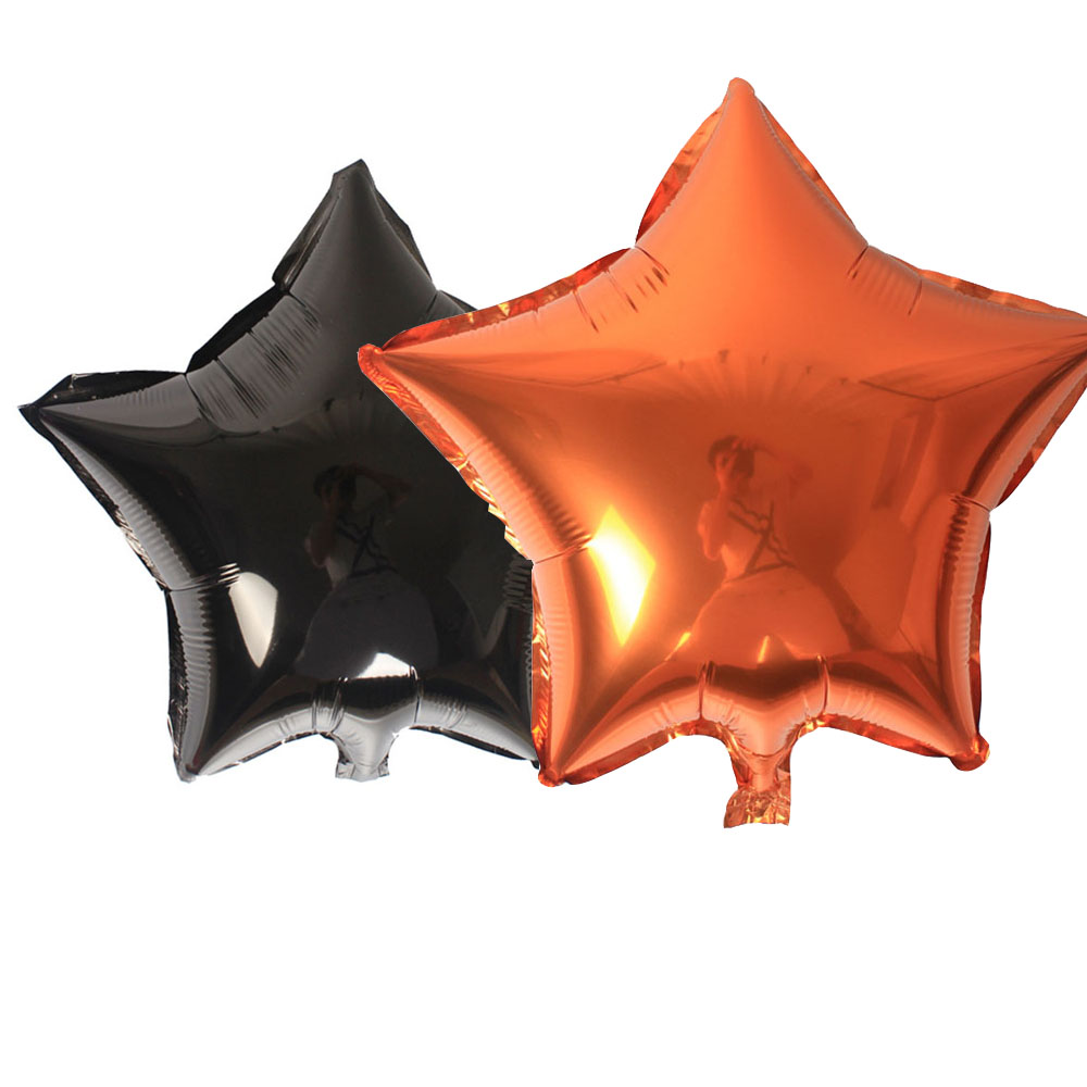 helium foil balloon five point star wedding ball aluminum balloons inflatable halloween toy party decoration - Halloween Centerpieces Wedding