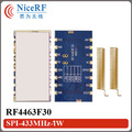 2 шт./лот RF4463F30 1 Вт FSK Беспроводной Приемопередатчик Модуль SI4463 | 433 МГц Беспроводной Приемник Rf-модуль