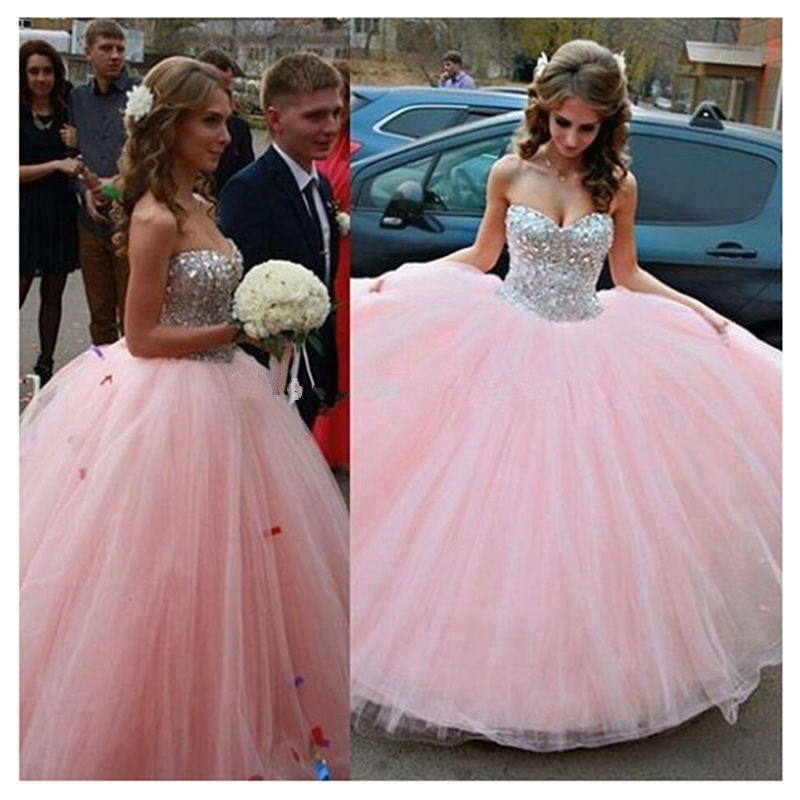 Popular Light Pink Quinceanera Dresses-Buy Cheap Light Pink ...
