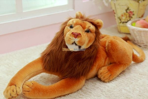 Fancytrader Rare Item! 49\'\' 125cm Emulational Plush Jumbo Soft Stuffed The Lion King Simba, Free Shipping FT50176 (3)