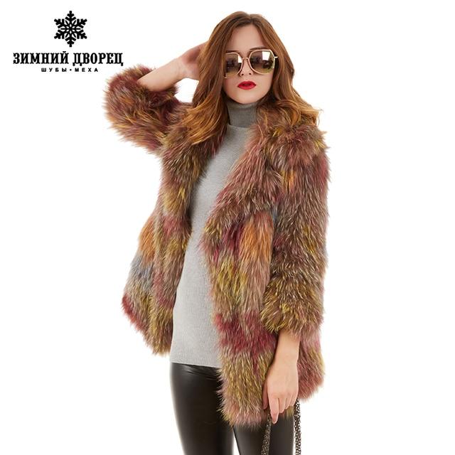 Star style fashion Best seller color fox  coat fox  popular style fur coats for women designer style fox fur winter coat