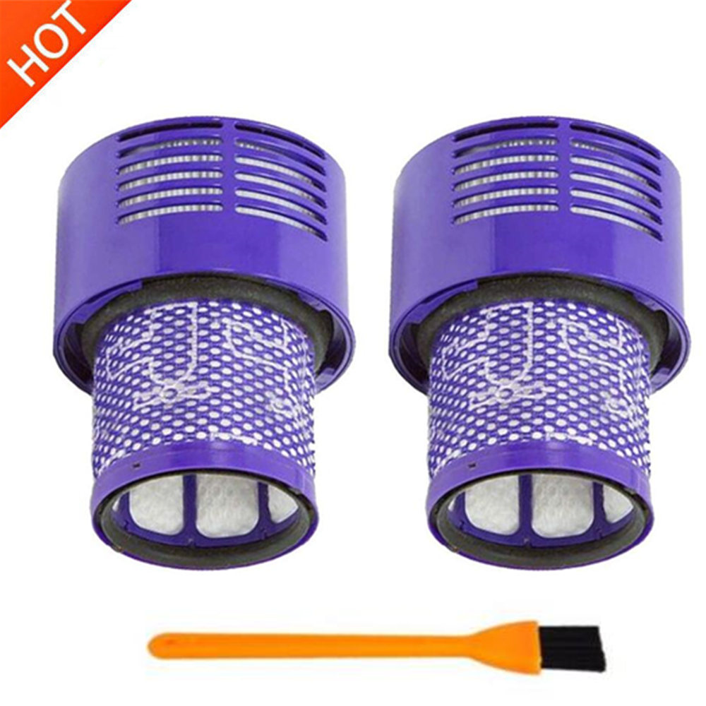 Washable Big Filter Unit For Dyson V10 Sv12 Cyclone Animal Absolute Total Clean Cordless Vacuum Cleaner, Replace Filter