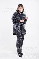 Для девочек Casaca Para Mujer Женский взрослый утолщение фосфоресцирующий костюм плащ полиэфирное волокно ПВХ отражающий легкий дождевик Кемпинг