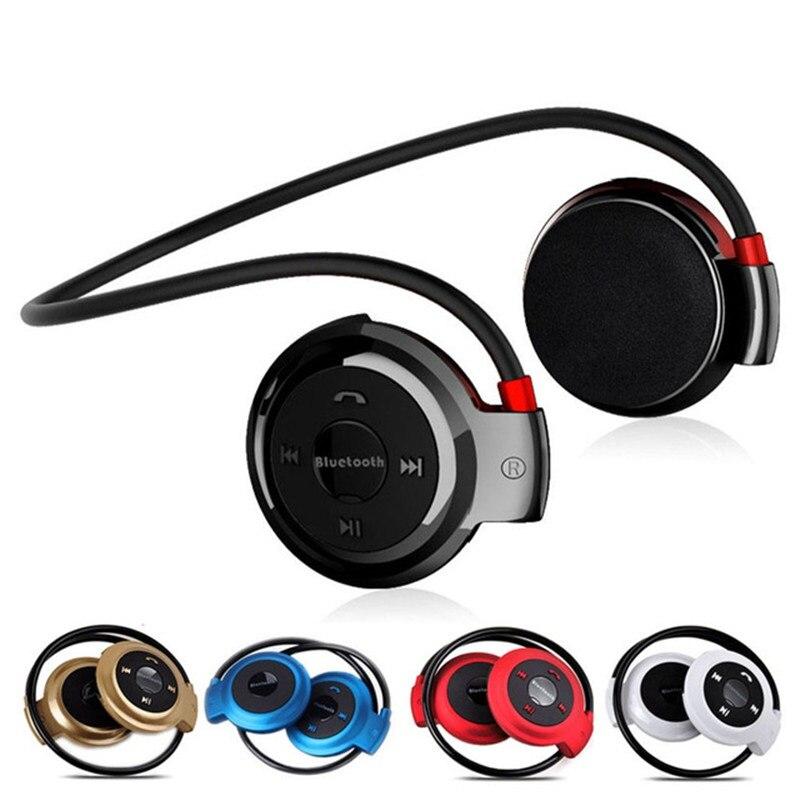 Мини 503 Беспроводной Bluetooth гарнитура спортивные шейным громкой связи Bluetooth стерео наушники Поддержка Tf карты