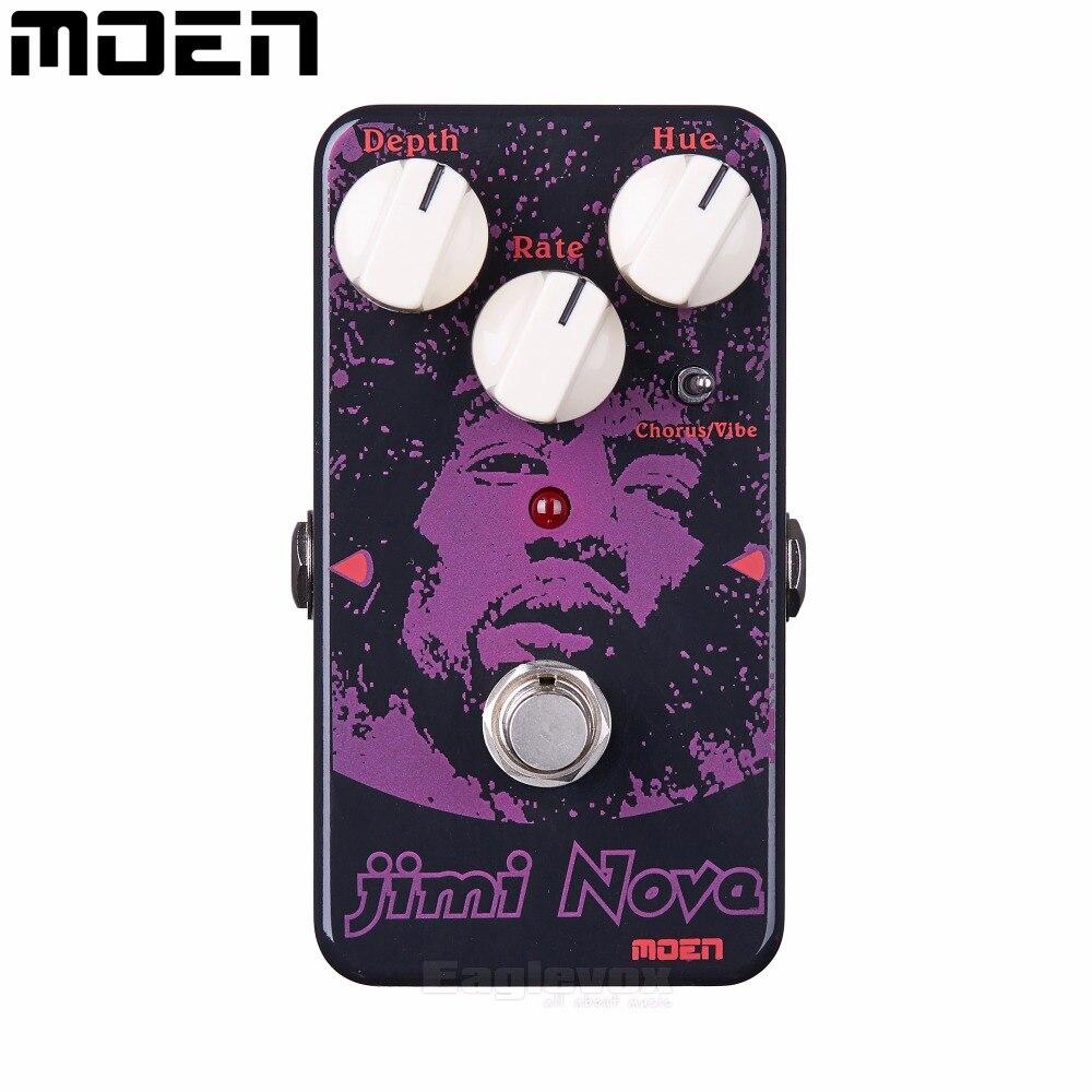 MOEN AM VB Jimi Nova VibeEffects For Electric Guitar Vibe Chorus Guitar Effect True Bypass