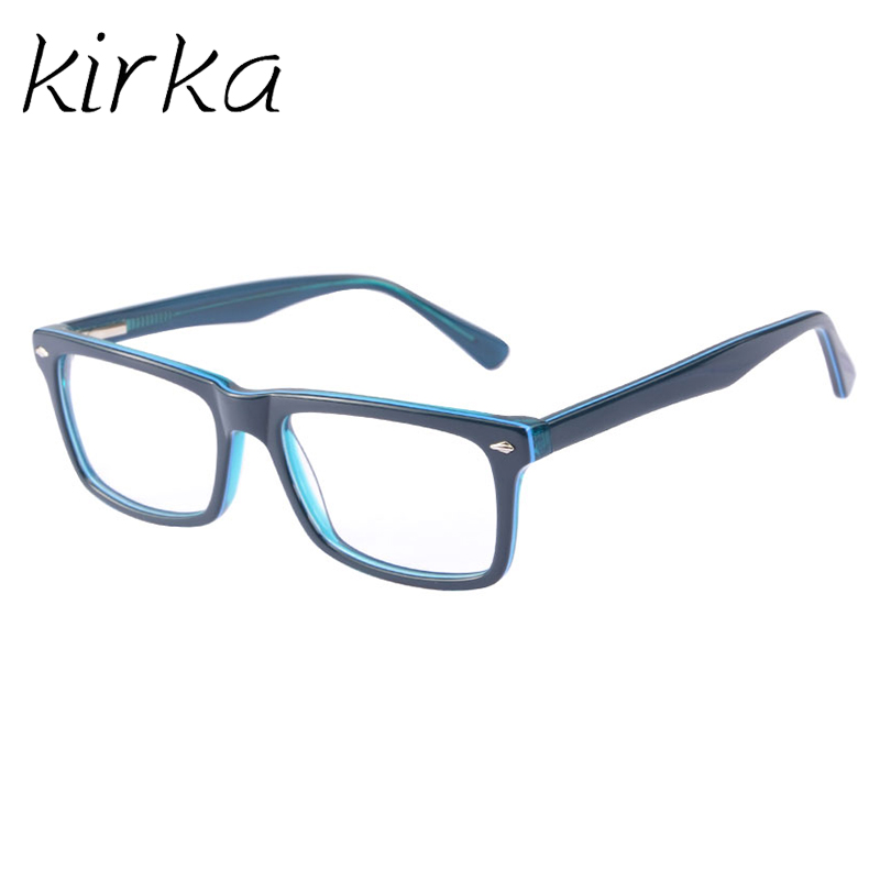 Kirka Nice Typ Män Glasses Frame Retro Designer Myopi Märke Optisk - Kläder tillbehör - Foto 3