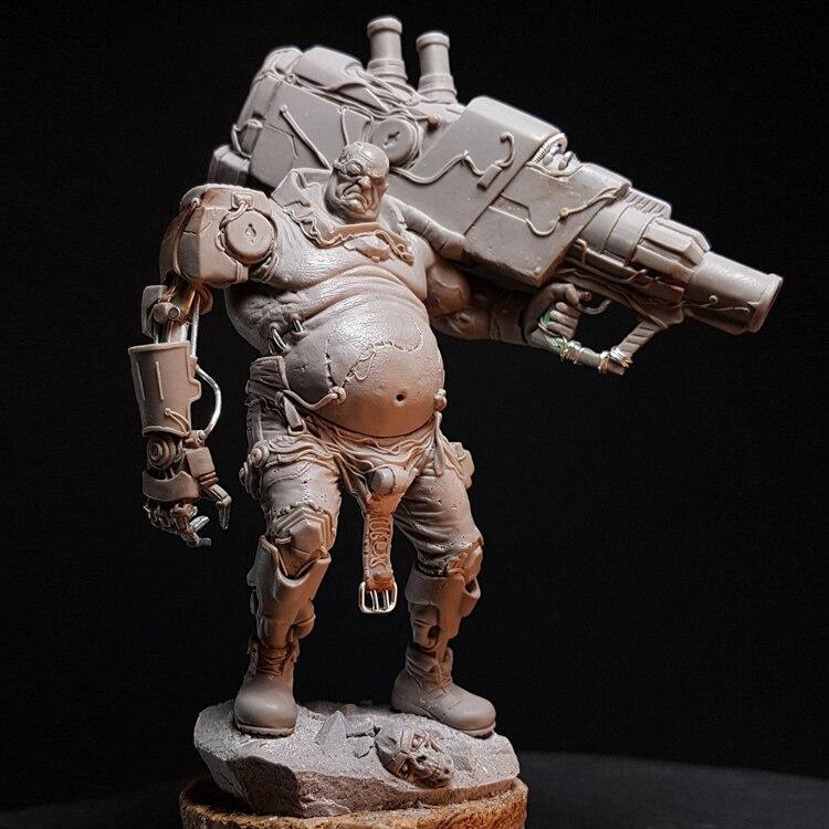 1:24 каучуковая фигурка модель Juggernaut статуя с мечом R119