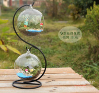 Wedding Gift New Year Personalized Snow Globe Double Glass Bottle NICE Bottle For Wedding Home Decoration