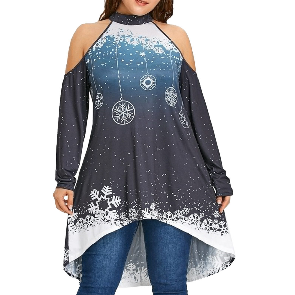 Collection Christmas Blouses Plus Size Pictures Unamon