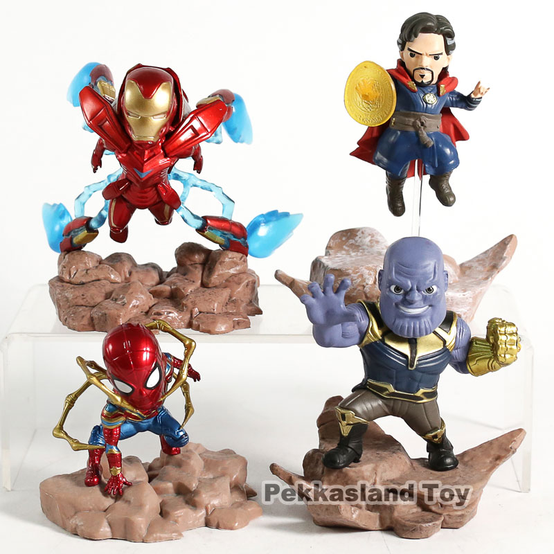 Avengers Infinity War Mini Egg Attack Doctor Strange Pvc Figure Collectible Model Toy Action & Toy Figures