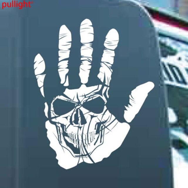 Hand skull vinyl sticker decal apocalypse undead renegade graphic car