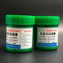 HEIßER Verkauf! SD 528 niedrigen temperatur SMT bleifreien SMT Solder Paste 500g Sn42Bi58 hohe qualität solder zinn paste Kostenloser versand